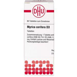 MYRICA cerifera D 3 Tabletten