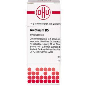 NICOTINUM D 5 Globuli