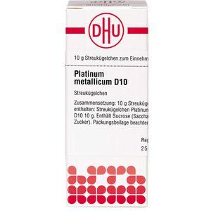PLATINUM METALLICUM D 10 Globuli