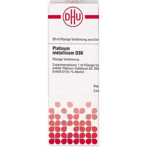PLATINUM METALLICUM D 30 Dilution