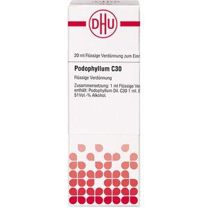 PODOPHYLLUM C 30 Dilution