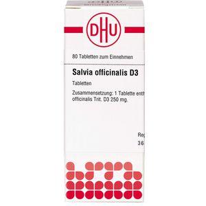 SALVIA OFFICINALIS D 3 Tabletten