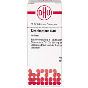 STROPHANTHUS D 30 Tabletten