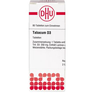 TABACUM D 3 Tabletten