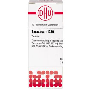 TARAXACUM D 30 Tabletten