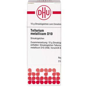 TELLURIUM metallicum D 10 Globuli
