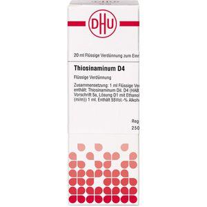 THIOSINAMINUM D 4 Dilution