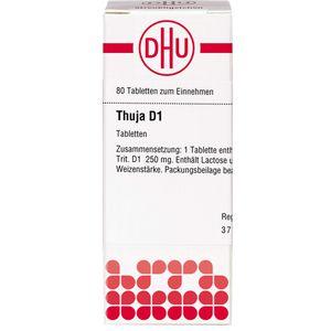 THUJA D 1 Tabletten