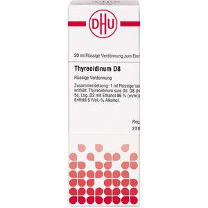 THYREOIDINUM D 8 Dilution
