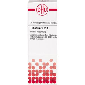 TUBOCURARE D 10 Dilution