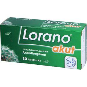 LORANO akut Tabletten