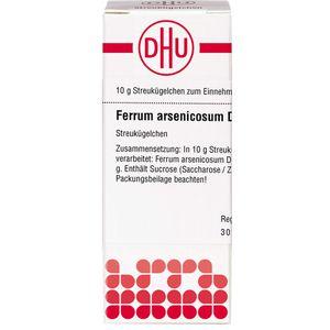 FERRUM ARSENICOSUM D 10 Globuli