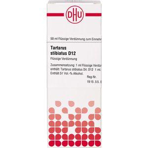 TARTARUS STIBIATUS D 12 Dilution