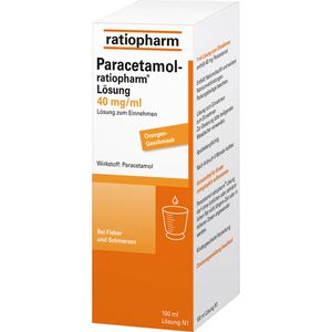 PARACETAMOL ratiopharm Saft