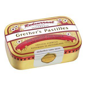 GRETHERS Redcurrant+Vitamin C zuckerfrei Pastillen