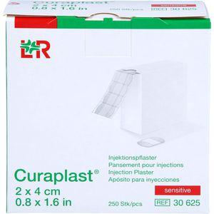 CURAPLAST Inj.Pflaster sensitiv 2x4 cm