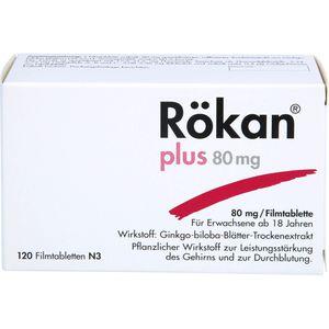 RÖKAN Plus 80 mg Filmtabletten