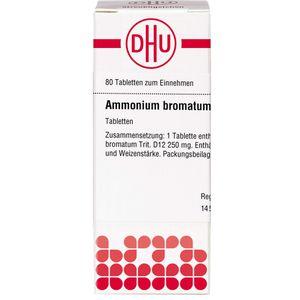 AMMONIUM BROMATUM D 12 Tabletten