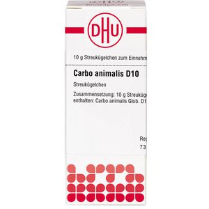CARBO ANIMALIS D 10 Globuli