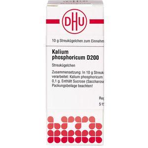 KALIUM PHOSPHORICUM D 200 Globuli