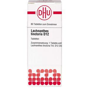 LACHNANTHES tinctoria D 12 Tabletten