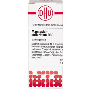 MAGNESIUM SULFURICUM D 30 Globuli