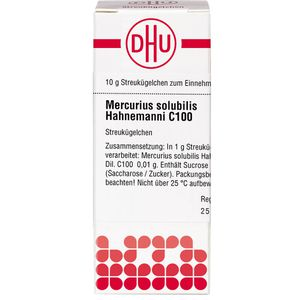 MERCURIUS SOLUBILIS Hahnemanni C 100 Globuli