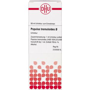 POPULUS TREMULOIDES Urtinktur