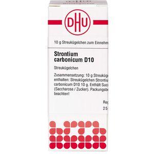 STRONTIUM CARBONICUM D 10 Globuli