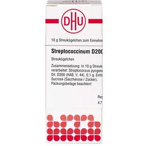 STREPTOCOCCINUM D 200 Globuli