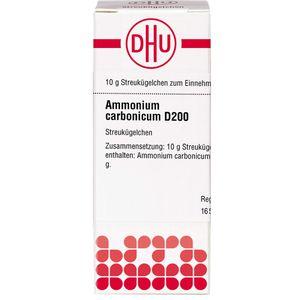 AMMONIUM CARBONICUM D 200 Globuli