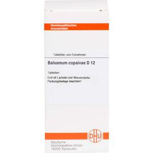 BALSAMUM COPAIVAE D 12 Tabletten