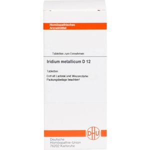 IRIDIUM metallicum D 12 Tabletten