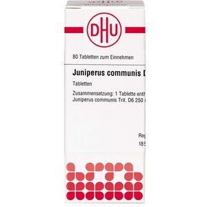 JUNIPERUS COMMUNIS D 6 Tabletten