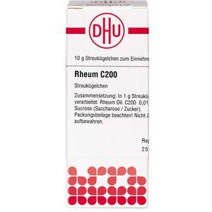 RHEUM C 200 Globuli