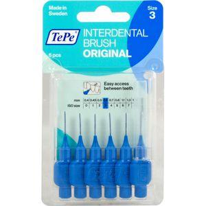 TEPE Interdentalbürste 0,6mm blau