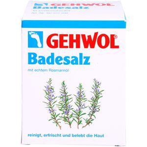 GEHWOL Rosmarin Badesalz Portionsbeutel