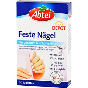 ABTEI Feste Nägel Tabletten