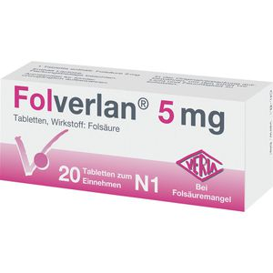 FOLVERLAN 5 mg Tabletten
