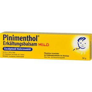 PINIMENTHOL Erkältungsbalsam mild