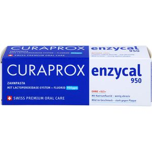 CURAPROX enzycal 950 Fluorid extra milde Zahnpasta