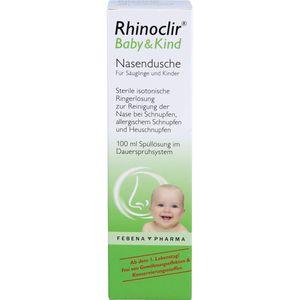 RHINOCLIR Baby & Kind Nasendusche Lösung