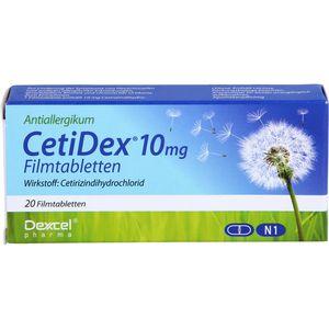 CETIDEX 10 mg Filmtabletten