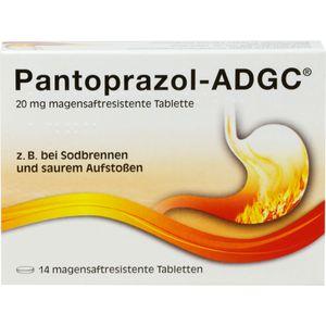 PANTOPRAZOL ADGC 20 mg magensaftres.Tabletten