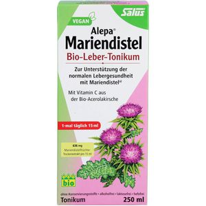 ALEPA Mariendistel Bio-Leber-Tonikum Salus