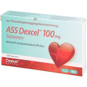 ASS Dexcel 100 mg Tabletten