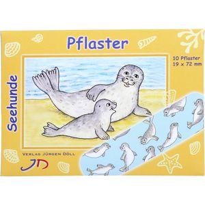 KINDERPFLASTER Seehunde Briefchen