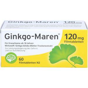 GINKGO-MAREN 120 mg Filmtabletten