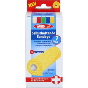 BANDAGE selbsthaftend 10 cmx4,5 m farb.sort.