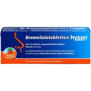 BROMELAIN TABLETTEN hysan magensaftres.Tabletten